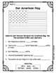 American Flag & Capital Worksheets & Test and Answer Keys