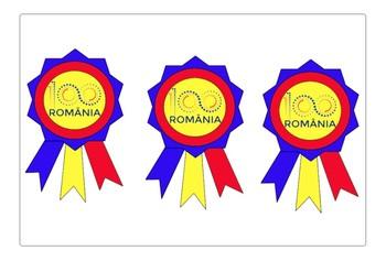 Flag cockade for the Centenary of Romania