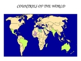 Flags & Countries of the world - Geography lesson plan - E