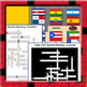 Flags & Map outlines - Hispanic World - Culture Crossword Puzzle worksheets