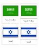 Flags of Asia (3 Part Montessori Cards)
