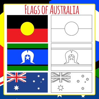 Flags of Australia Commercial Use Clip Art Pack
