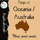 Flags of Australia Self Correcting Reading Cards