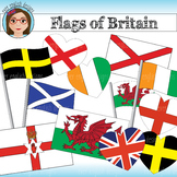Flags of Britain Clip Art