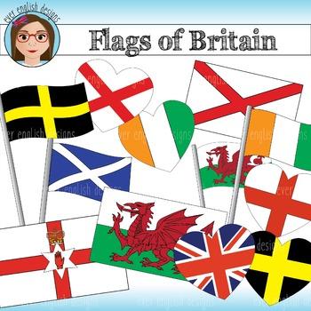 Flags of Britain Clip Art