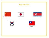 Flags of Eastern Asia Matching