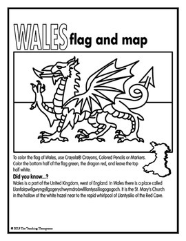 Flags of European Countries Coloring Pages and Worksheets
