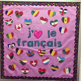 Flags of French-Speaking Countries - Bulletin Board Classr