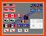 Flags of North America: Three Main Countries