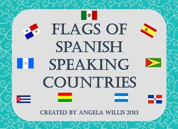 Flags of Spanish Speaking Countries