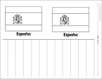 Flags of Spanish-Speaking Countries Windsock Craftivity