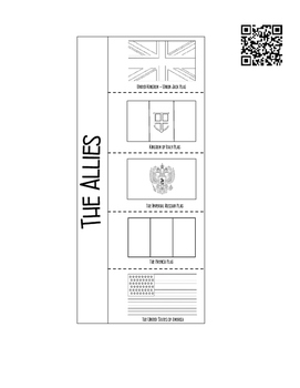 Flags of World War II Interactive Notebook Activity