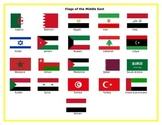 Flags of the Middle East Matching