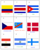 Flags of the Nations Rummy