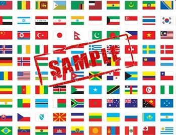 Flags of the World Graphics