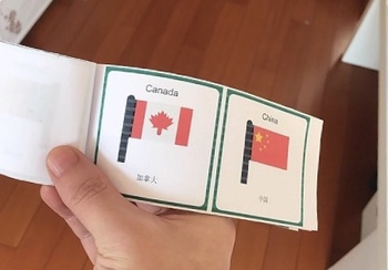 Flags of the World: 30 World Flags - FlashCards