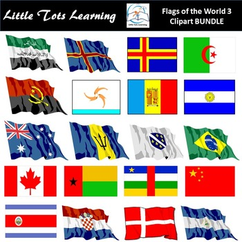 Flags of the World: 366 World Flags Clip Art