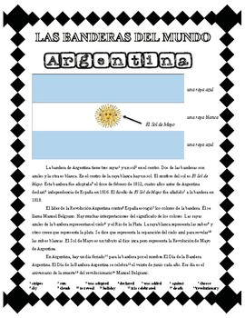 Flags of the World - Argentina