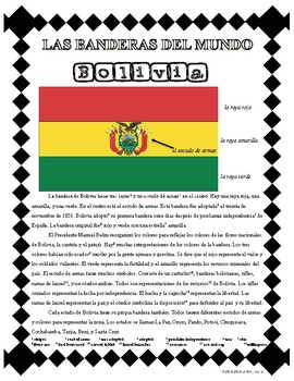 Flags of the World - Bolivia