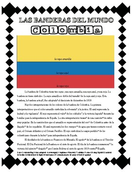 Flags of the World - Colombia