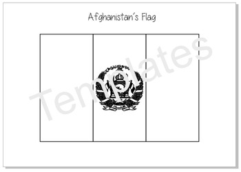 Flags_Templates for colouring and crafts (A)