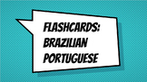 Flahcards: Brazilian Portuguese