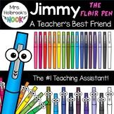 Flair Pen Clipart: Jimmy the Flair Pen - A Teacher's Best Friend