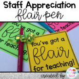 Flair Pen Teacher Gift