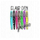 Flair Pen clip art png sublimation digital download
