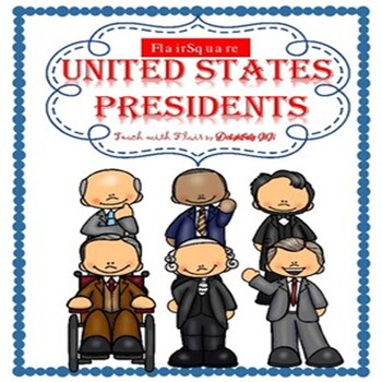 FlairSquare - United States Presidents Bundle! (Presidents Day)