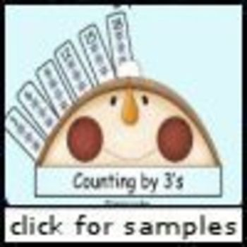 Flakey Snowman Skip Counting