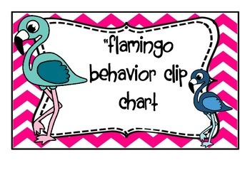 Flamboyant Flamingo Behavior Clip System