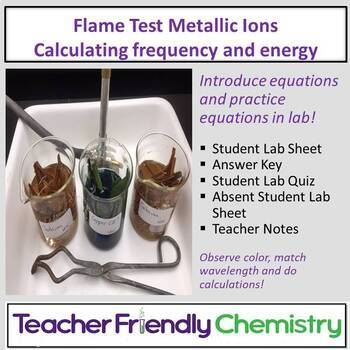 Chemistry Lab: Flame Test of Metallic Ions