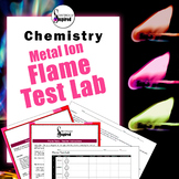 Flame Test Lab - Metallic Ion Mystery Flame