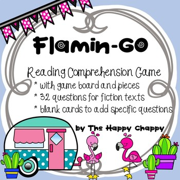 FlaminGO Reading Comprehension Game with 32 Questions