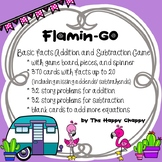 FlaminGO basic facts addition and subtraction game with st