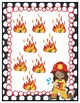 Flaming Facts Subtraction Math File Folder Game Single Digit