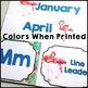 Flaming Theme Classroom Decor: Editable Name Plates