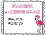 Flamingo Addition Cards