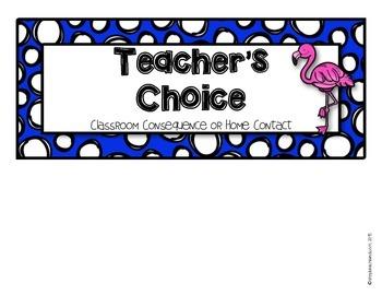 Flamingo Behavior Clip Chart