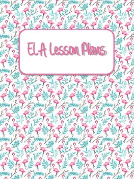 Flamingo Binder Covers