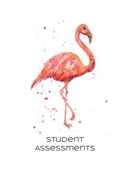 Flamingo Binder Covers