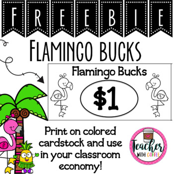 Flamingo Bucks Freebie