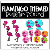 Flamingo Bulletin Board (Back to School)