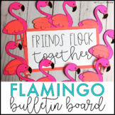 Flamingo Bulletin Board | Friendship Bulletin Board | Summer Bulletin Board