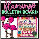 Flamingo Bulletin Board Template