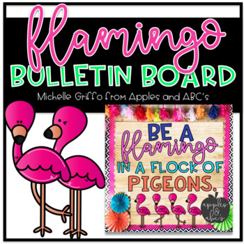 Flamingo Bulletin Board Template