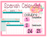 Flamingo Calendar-Spanish