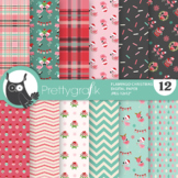 Flamingo Christmas Papers - PS1165
