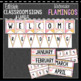 Flamingo Classroom Decor, Signs and Labels: Editable